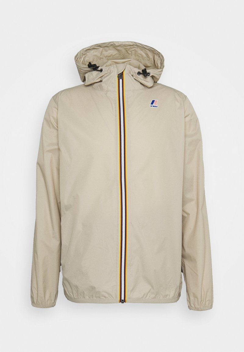K-Way - LE VRAI CLAUDE UNISEX - Waterproof jacket - beige