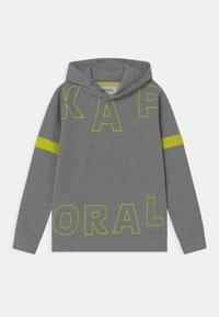 Kaporal - SPLIT LOGO HOODIE - Sweatshirt - medium grey - 0