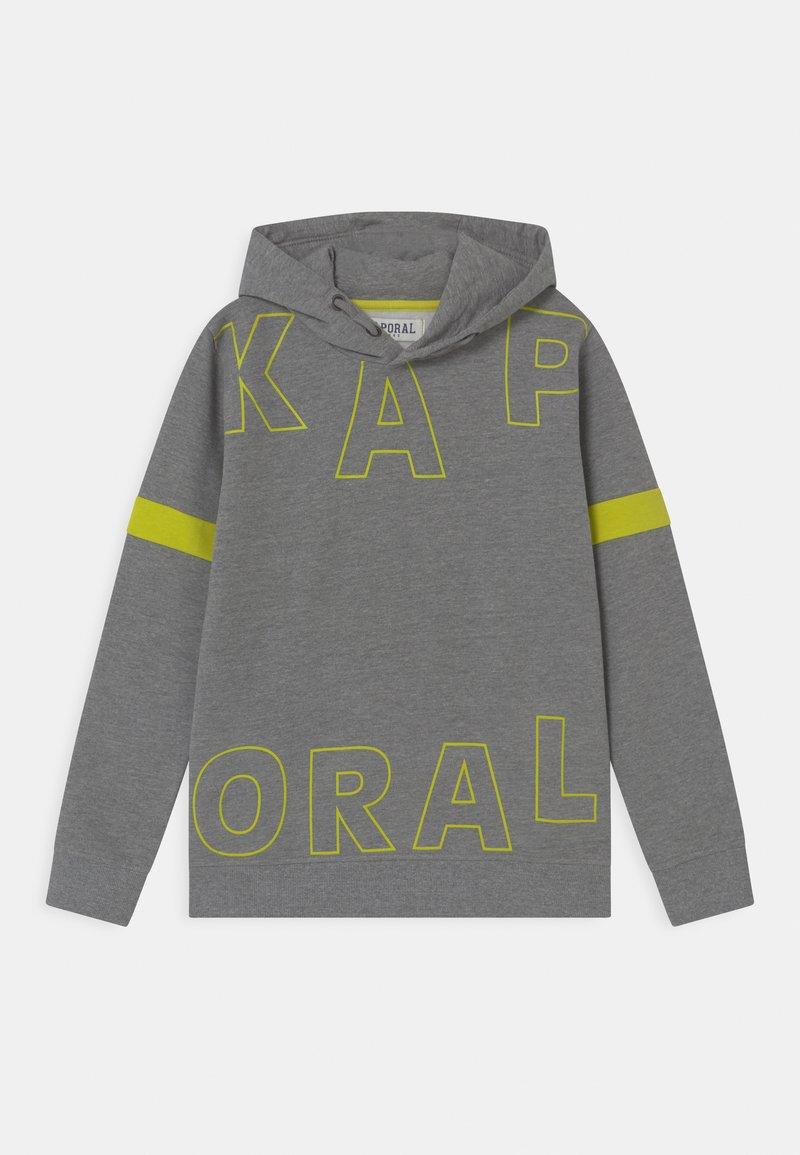 Kaporal - SPLIT LOGO HOODIE - Sweatshirt - medium grey