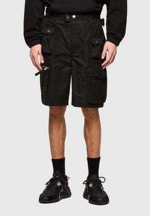 P-CYAN - Shorts - black