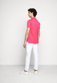 Polo Ralph Lauren - SLIM FIT MESH POLO SHIRT - Polo shirt - hot pink - 2