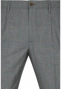 ALBERTO Pants - PLEAT - CERAMICA RETRO CHECK - Trousers - check - 1