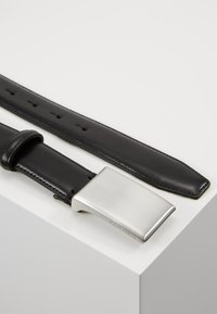 Selected Homme - SLHFILLIP FORMAL PLATE BELT - Belt - black - 2