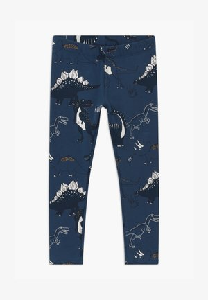 MINI DINO - Tracksuit bottoms - dark dusty blue