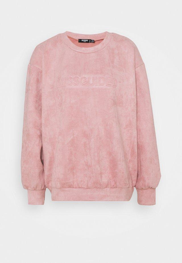 BRANDED MISSGUIDED - Sweatshirt - pink