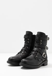 Vingino - MICHELE - Cowboy/biker ankle boot - black - 3