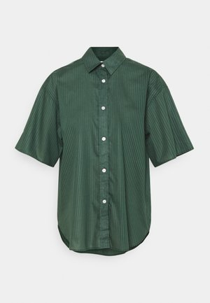 LINN - Button-down blouse - green emer
