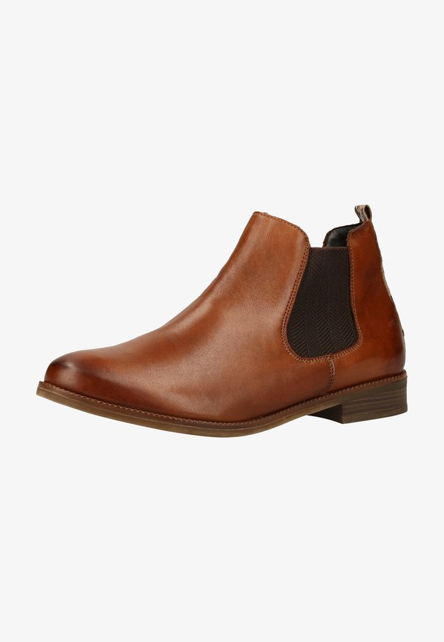 Ankle Boot - chestnut/brown / 22