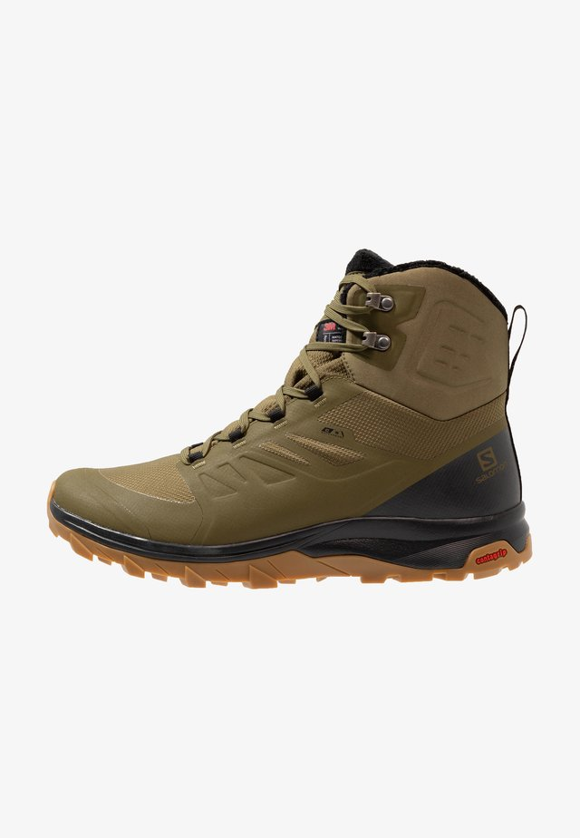 OUTBLAST TS CSWP - Winter boots - burnt olive/phantom/black