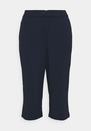 PANTS WITH PIPING DETAIL - Trousers - sky captain blue