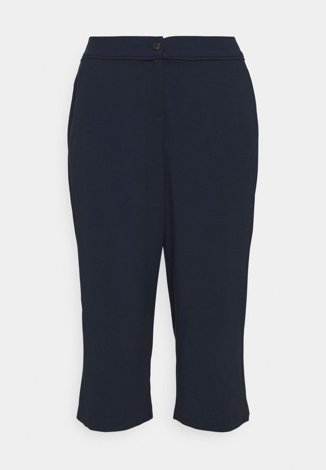 PANTS WITH PIPING DETAIL - Bukser - sky captain blue