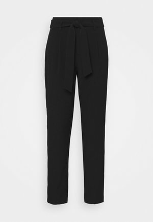 ONLELLY LIFE BELT PANT - Trousers - black