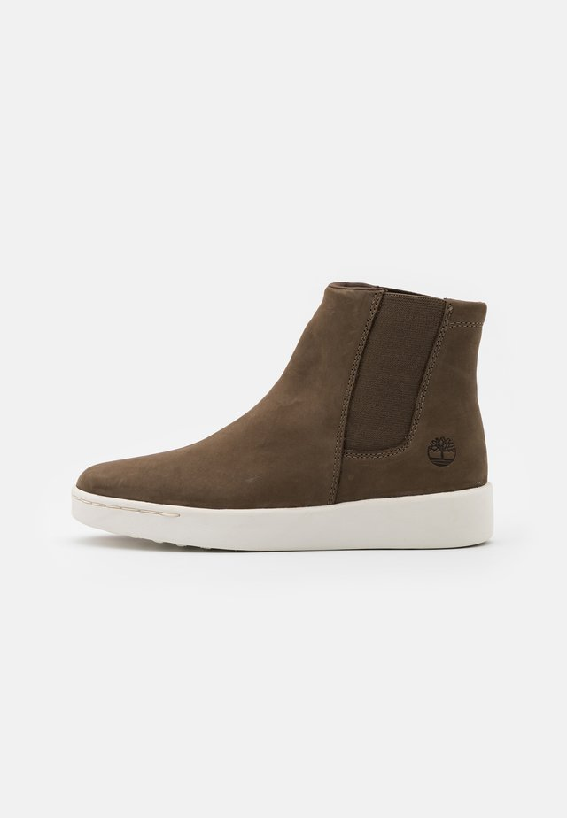 TEYA CHELSEA - Ankle boots - olive