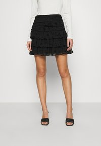 NIKKIE - SYA SKIRT - Mini skirt - black - 0