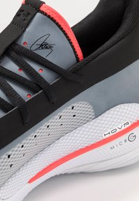Under Armour - CURRY 7 - Basketball shoes - white/black - 5