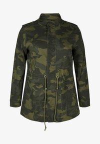 Zizzi - Summer jacket - army - 5