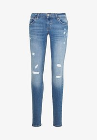 ONLY - ONLCORAL DEST AMOM - Jeans Skinny Fit - medium blue denim - 4