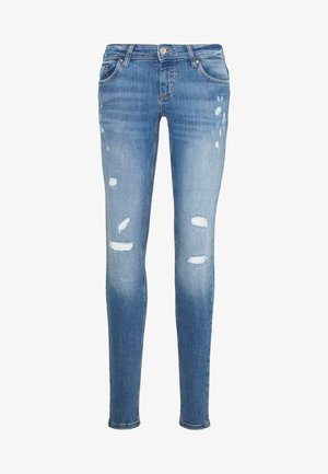 ONLCORAL DEST AMOM - Skinny džíny - medium blue denim