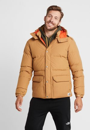 SIERRA JACKET - Dunjakker - brown