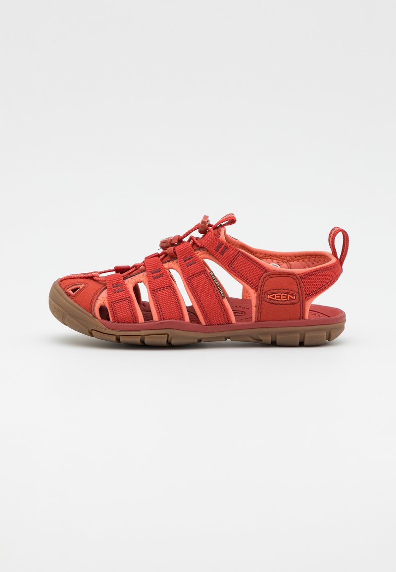 Keen - CLEARWATER CNX - Chodecké sandály - dark red/coral