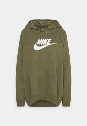 Sweatshirt - medium olive/white