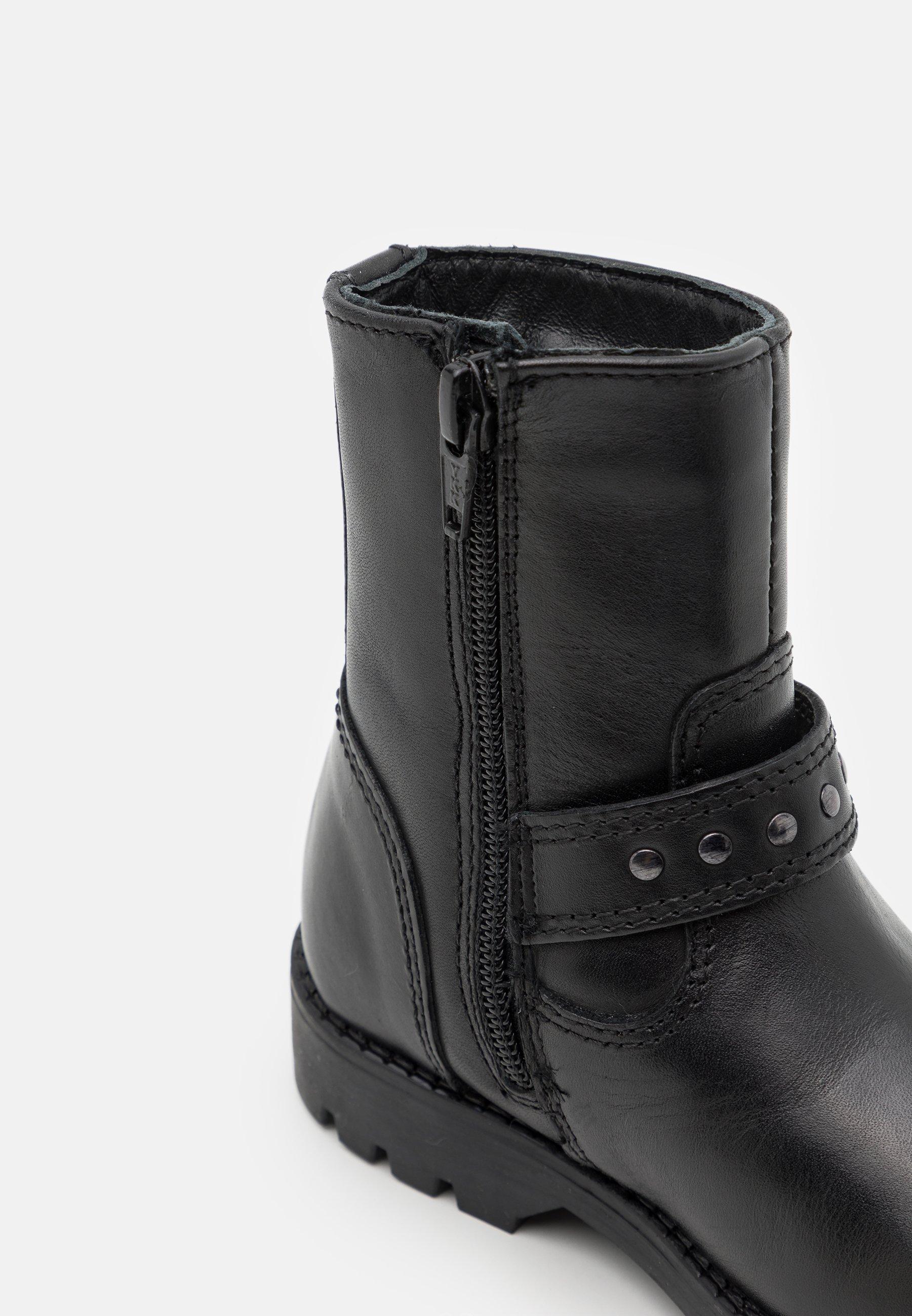 Kids Cowboy/biker ankle boot