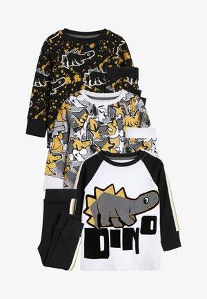 3  SET - Pyjama - goldcoloured