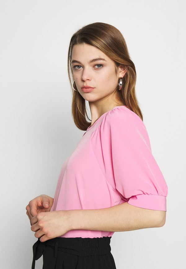 Vero Moda VMKELLY BLOUSE - Bluzka - rosebloom/jasnorÓżowy TJPG