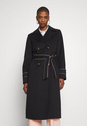 FEMININE COAT - Trenchcoat - black