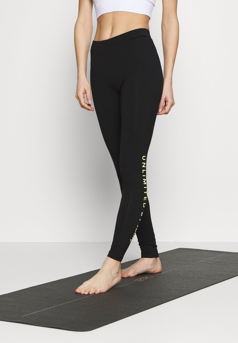 Hunkemöller - LEGGING UNLIMITED - Medias - black