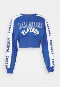 Missguided - PLAYBOY SPORTS WAIST - Sweatshirt - navy - 4