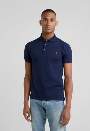 SLIM FIT MODEL - Pikeepaita - french navy