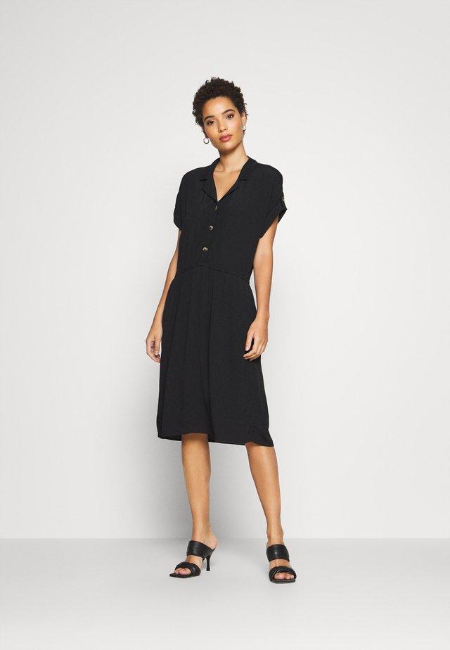 DRESS - Blusenkleid - black
