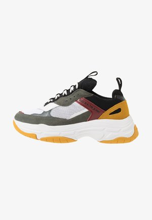 MARVIN - Sneakers basse - white/black/grey/rosso