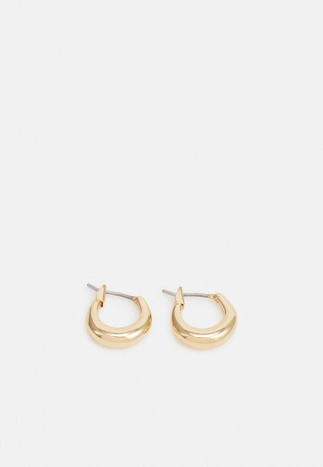 MIJA MINI HOOP EARRINGS - Boucles d'oreilles - gold-coloured