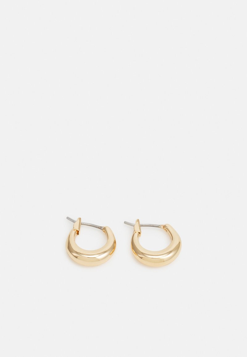 Weekday - MIJA MINI HOOP EARRINGS - Náušnice - gold-coloured