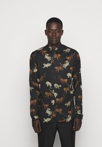 The Kooples - CHEMISE - Shirt - black / gold - 0