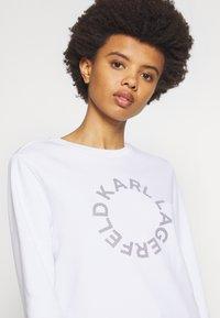 KARL LAGERFELD - CIRCLE LOGO - Sweatshirt - white - 3