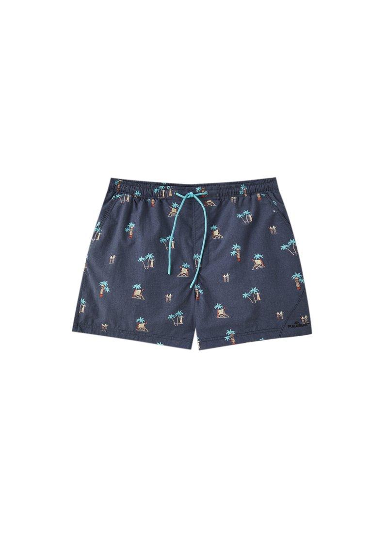 PULL&BEAR - Shorts da mare - blue