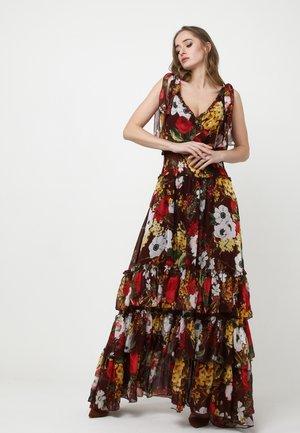 Maxi dress - wein rot, rot