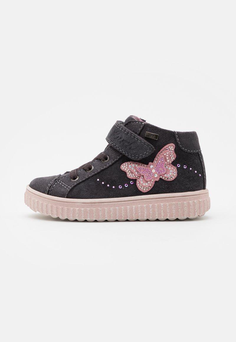 Lurchi - YASMIN TEX - Sneakersy wysokie - charcoal