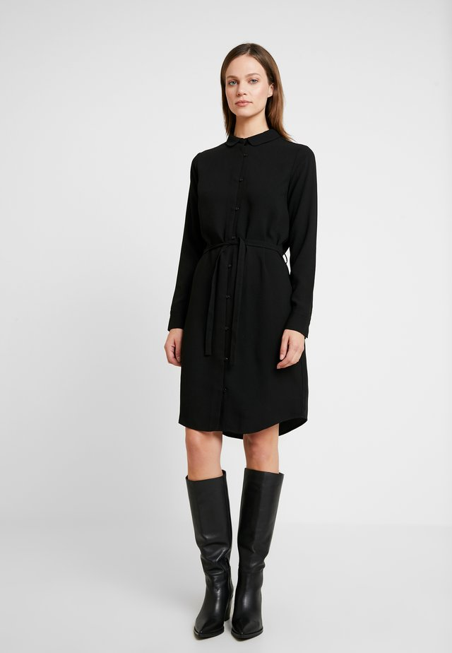 PECK DRESS - Skjortekjole - black