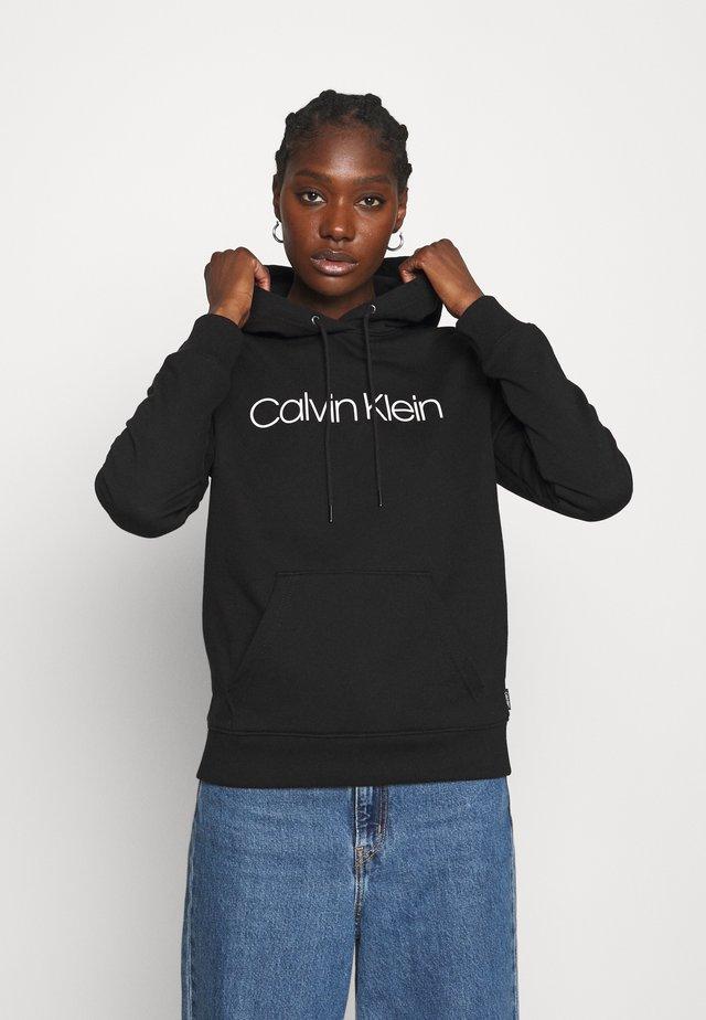 CORE LOGO HOODIE - Sweatshirt - black