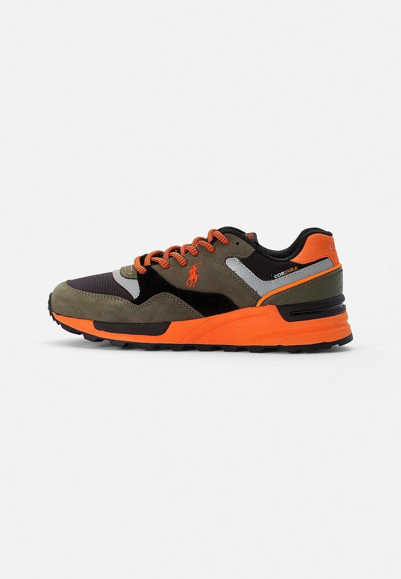 Polo Ralph Lauren - CORDURA/TRCKSTR PONY - Sneakersy niskie - black/militaire