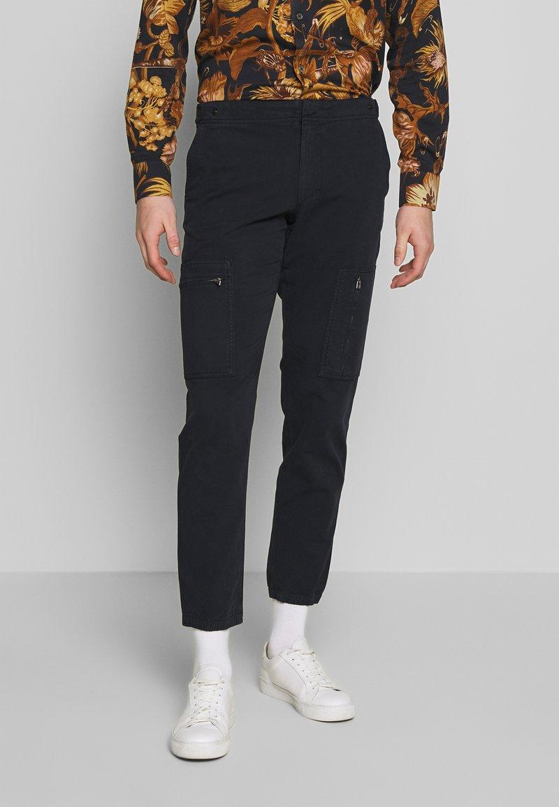 PS Paul Smith - FLIGHT PANTS - Cargo trousers - navy