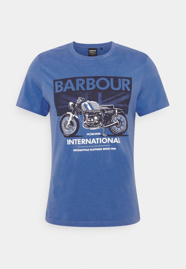 GREENWOOD TEE - T-shirt print - pure blue