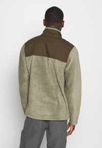 Columbia - COTTONWOOD PARKHALF SNAP - Fleece jumper - stone green/olive green - 2