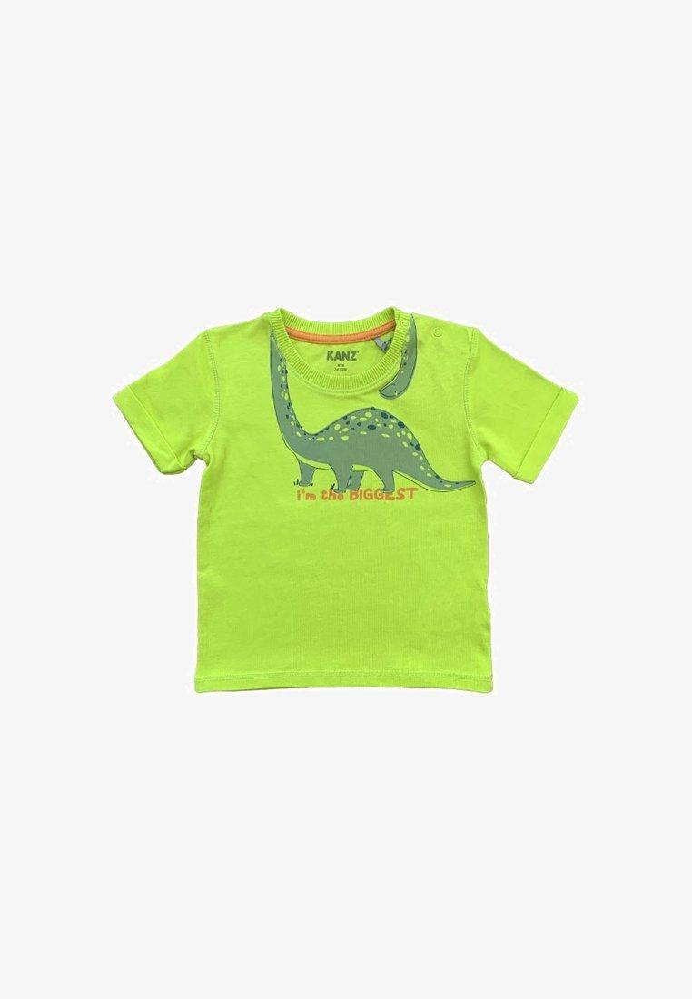Kanz - Print T-shirt - green