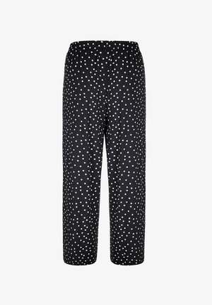 CULOTTE - Trousers - schwarz,weiß