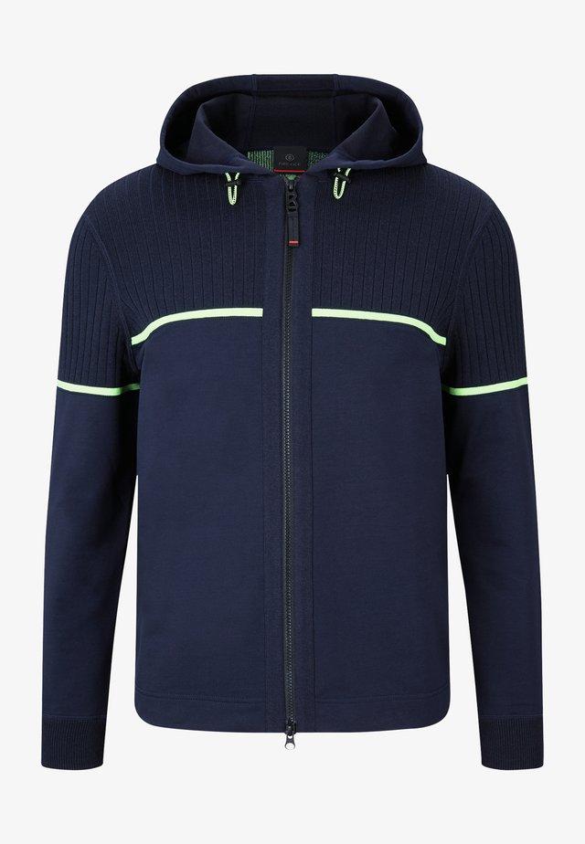 LENNY - veste en sweat zippée - navy-blau